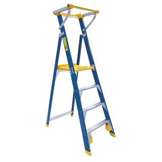 Fibreglass Platform Step Ladders With Safety Gate Safety Gate