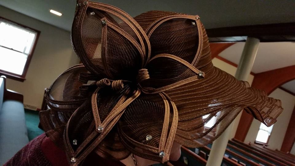 This is the bow on the side of my new Brown Hat