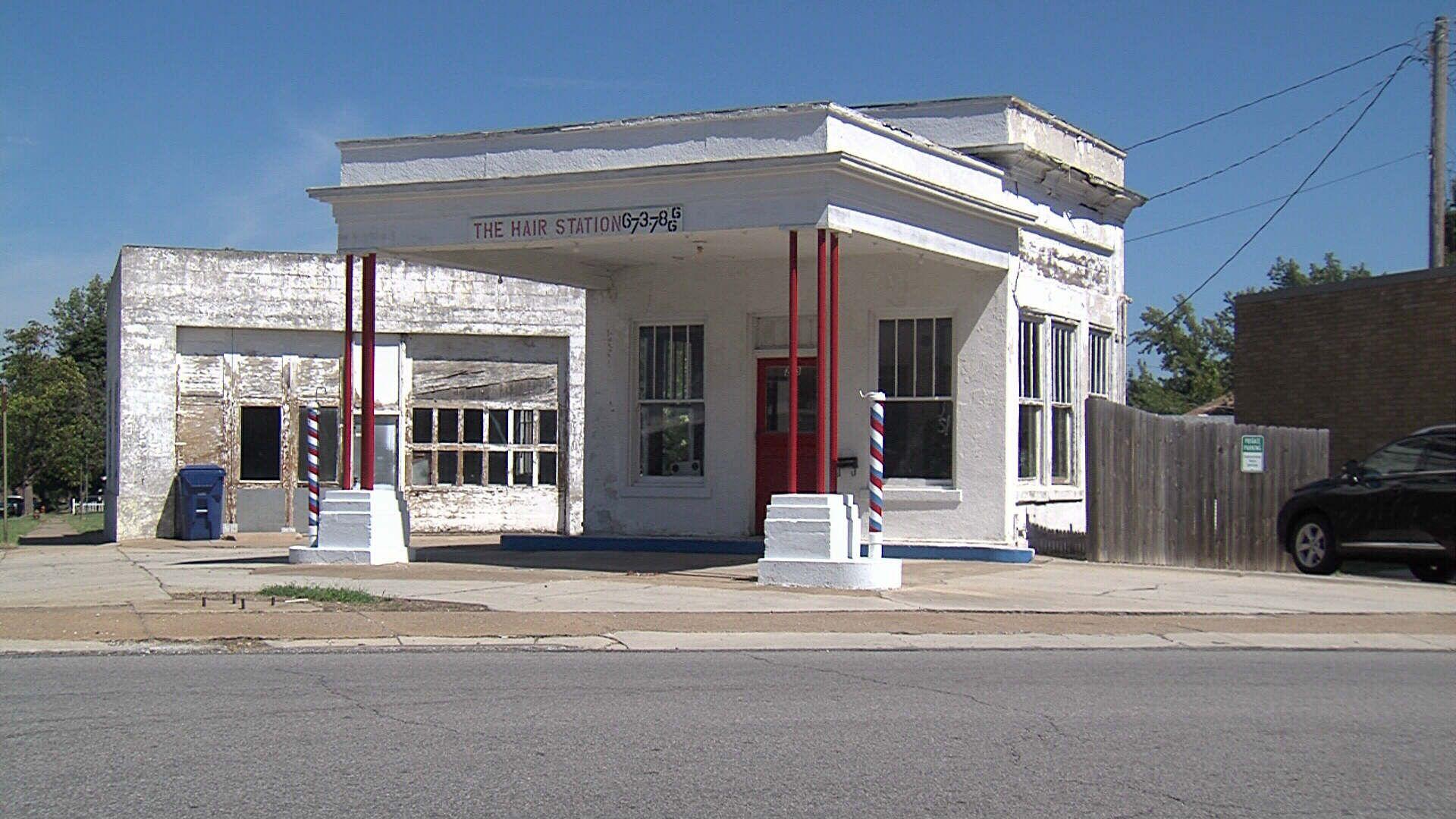 Gas Station and Garage, Webb City, Missouri   Route 66 Missouri ...