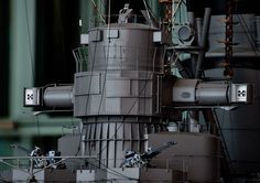 1/10 IJN Battleship Yamato Model @ Yamato Museum, Kure city, Hiroshima, Japan. 大和ミュージアム- 呉市海事歴史科学館, 広島県呉市宝町. #8I