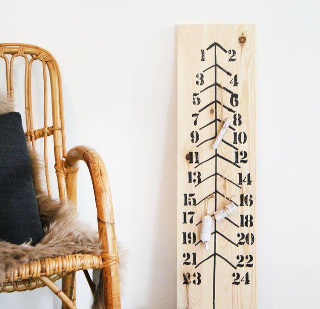 """Adventskalender - Adventskalender """"Tanne"""" - ein Designerstück von GuteGaben bei DaWanda"""