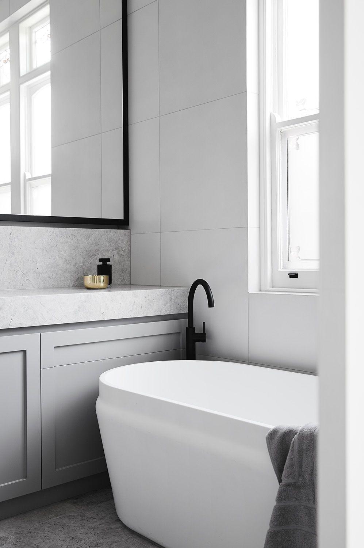Gray Bathroom Ideas For Relaxing Days And Interior Design Interieur Salle De Bain Petite Salle De Bain