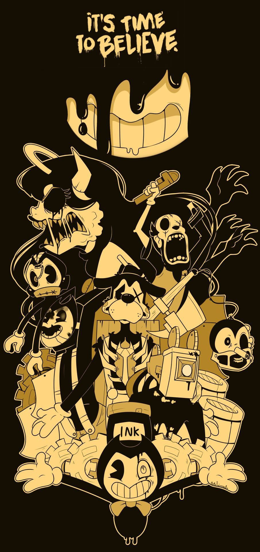 Bendy And The Ink Machine Bendy And The Ink Machine Ink Art