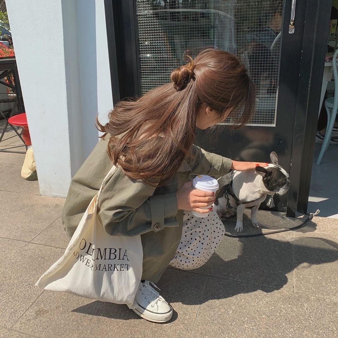 Korean Fashion Follow Zoo Hee For More Hair Styles Aesthetic Hair Long Hair Styles
