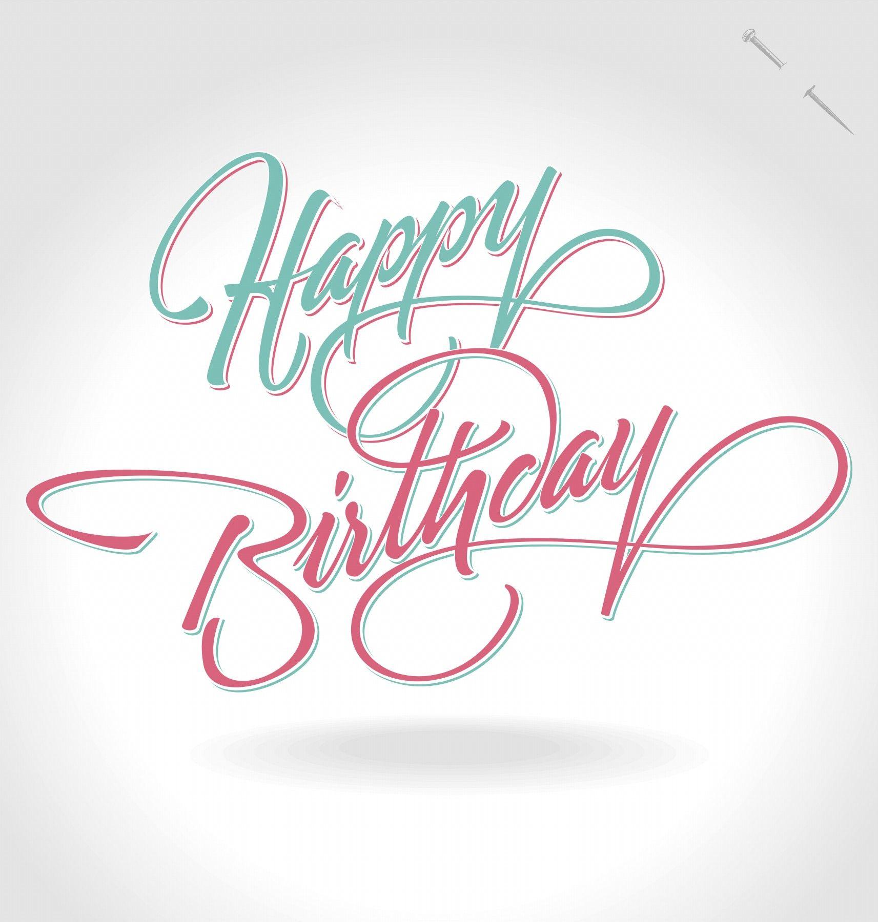 Happy Birthday Anniversaire, Typographie