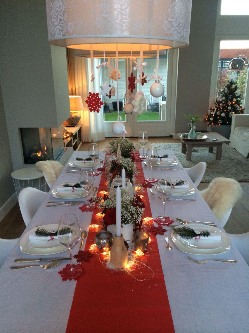 Kerstdiner kerst decoratie decoratie kerst pinterest xmas