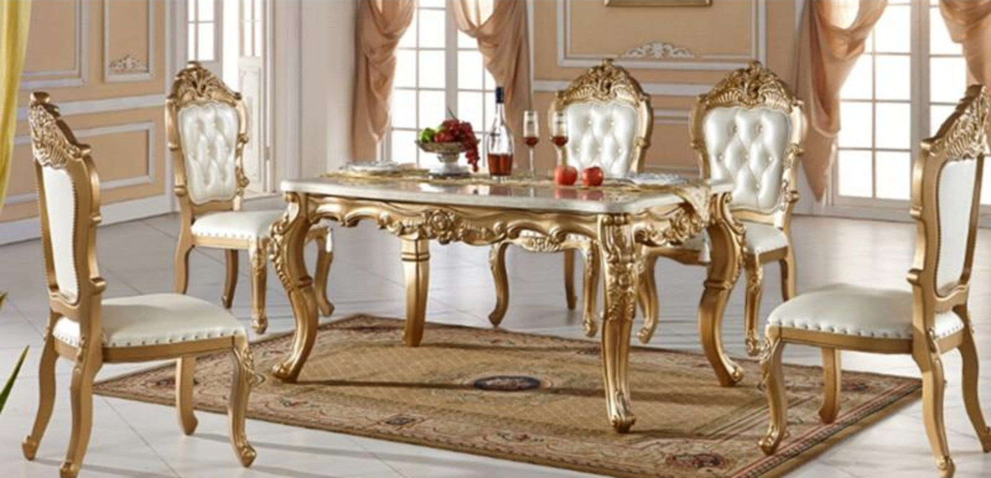 Classical Dining Table, Upscale Dining Room Tables