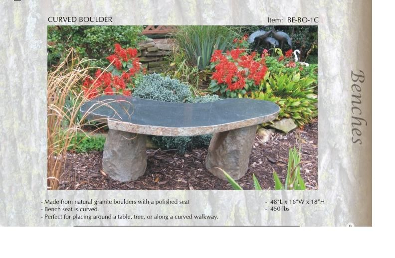 granite bench stone bench garden bench stone benches