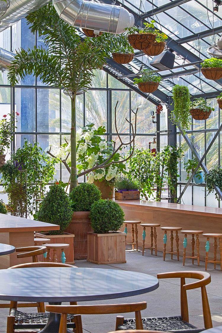 LA's+Koreatown+Greenhouse +The+Line+Hotel's+Commissary+Restaurante