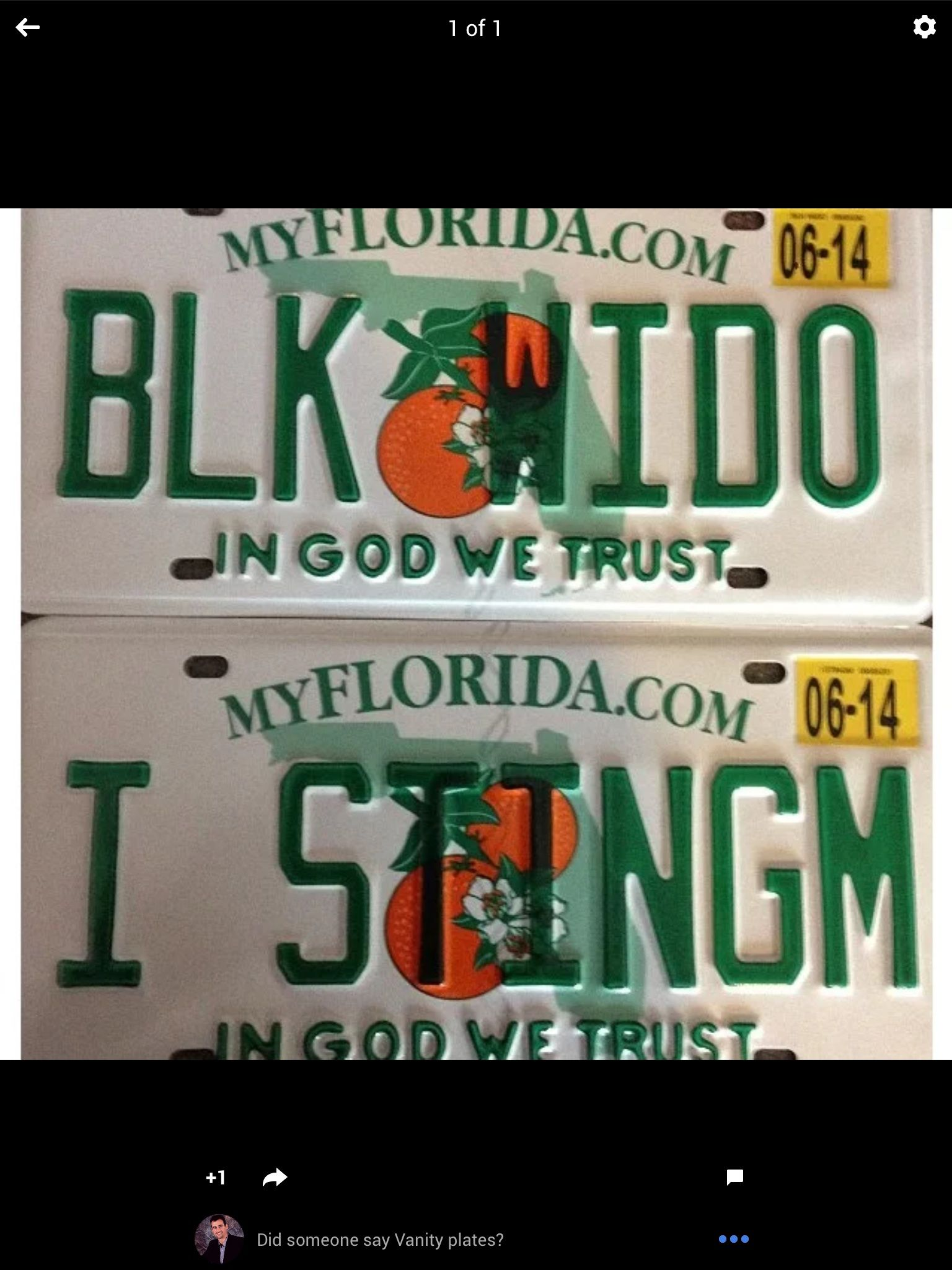 Funny License Plates Vehicles