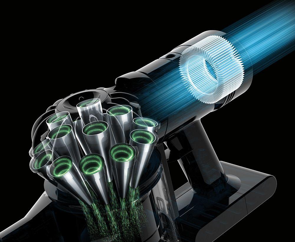コードレススティック掃除機のテクノロジー Dyson V8 ダイソン 掃除機 ダイソン 掃除