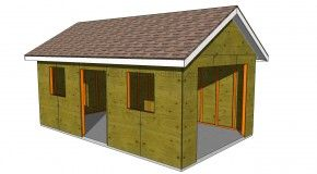 How To Build A Garage Roof Building Diy Plans