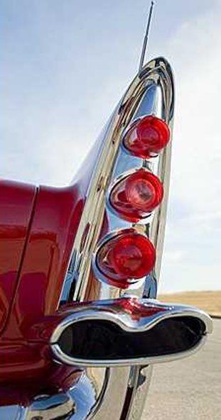 1958 Desoto fin is so art deco looking.