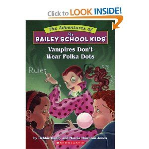 Series Vampires Don T Wear Polka Dots The Adventures Of The Bailey