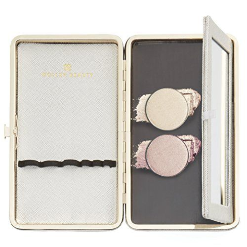 Rose  Shine Shimmer Highlighter Kit  3Pc Set Includes Makeup Organizer W Magnetic Palette  2 Lumie Highlighter Contour Powders * You can get more details by clicking on the image.