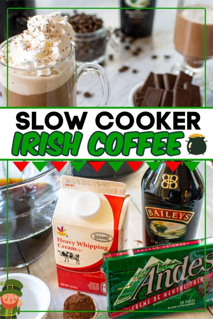 Classic Crock Pot Irish Coffee Recipe in 2020 Irish