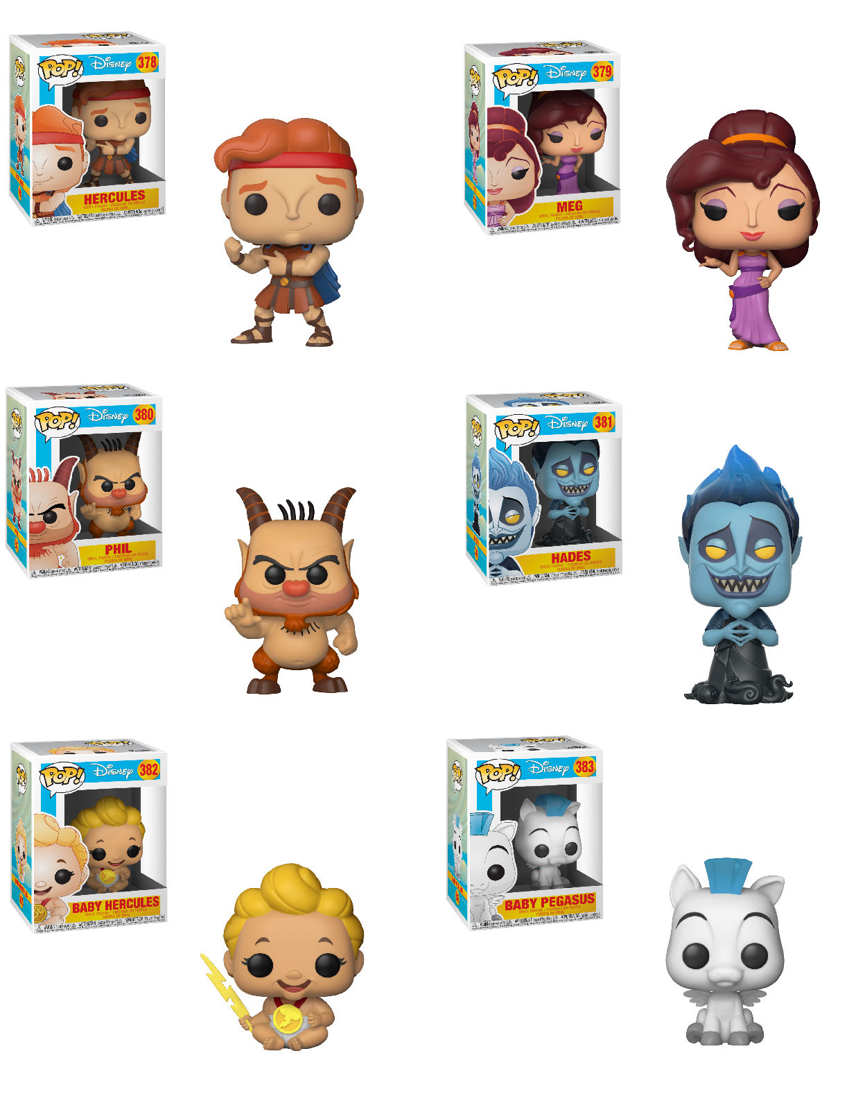Disney-Meg de Hercules Funko POP Personnage