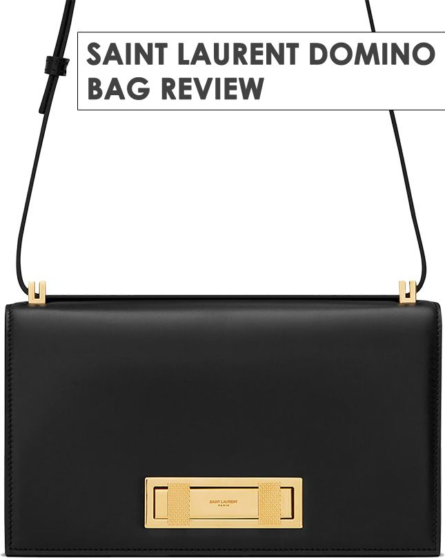 The Saint Laurent Domino Bag Featuring The New Clasp 3e7c5d1f7f7f0