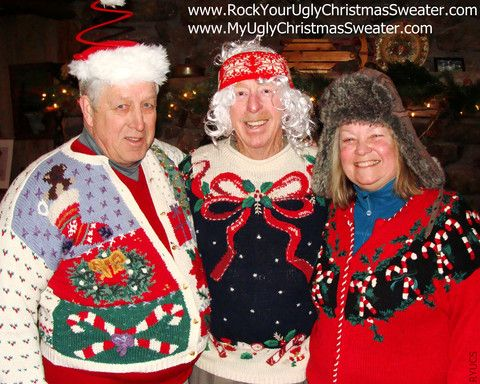 ugly christmas sweater party ideas wwwmyuglychristmassweatercom ryucs rock your ugly christmas sweater
