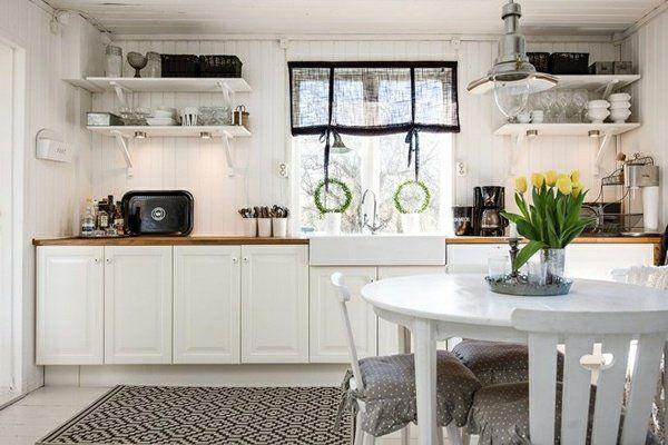 Idée décoration cuisine - le charme de la cuisine scandinave