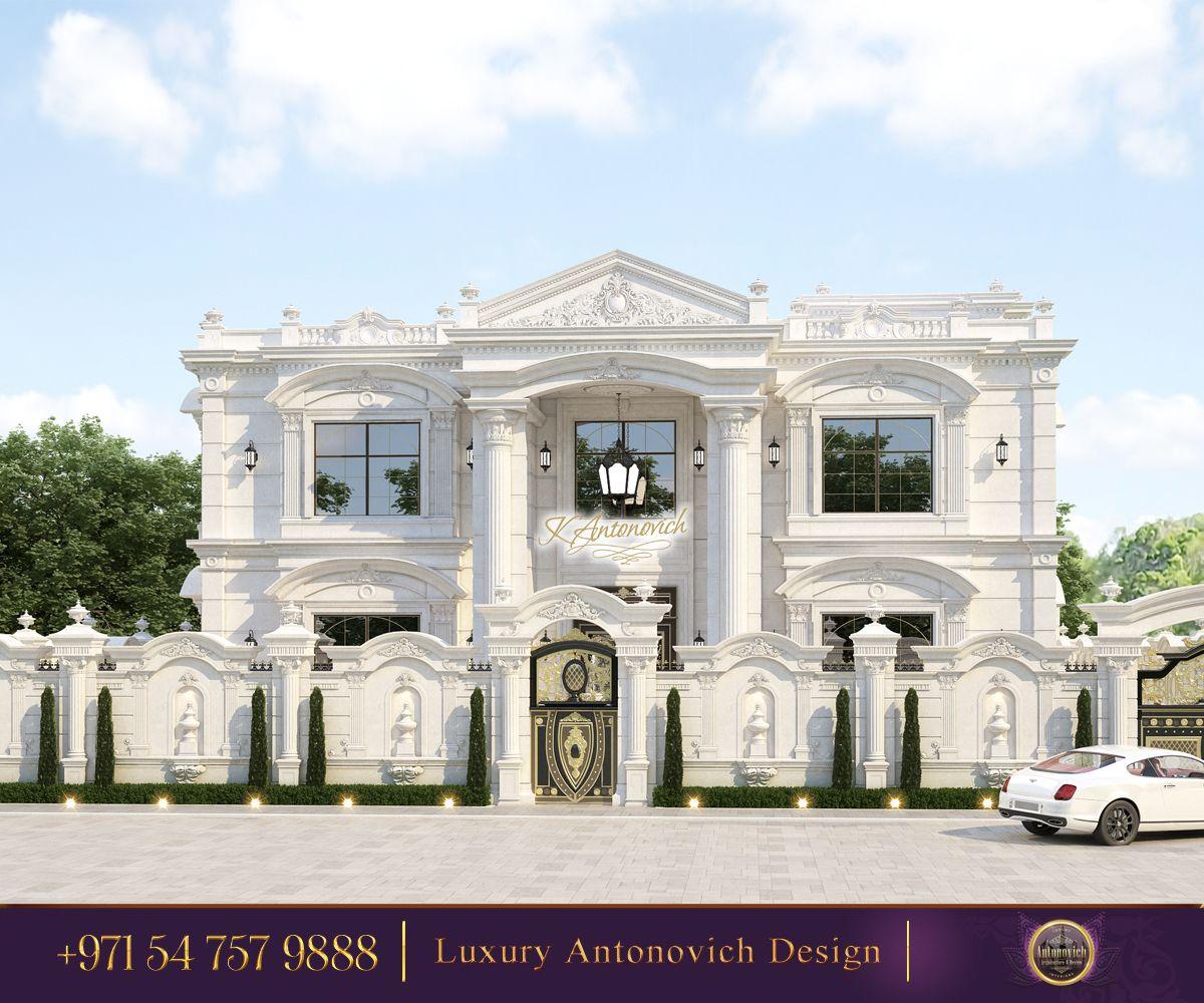 Luxury Villa Luxury House Exterior Design Trenhomede