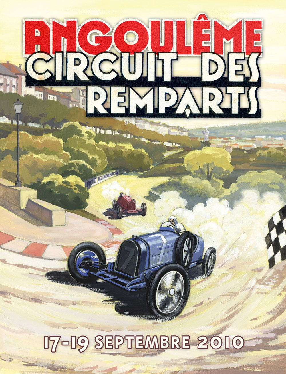 angouleme circuit des remparts 2010 art pinterest france travel and travel posters. Black Bedroom Furniture Sets. Home Design Ideas