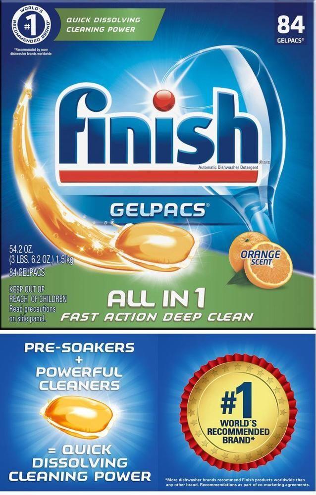 Dishwasher Detergent Dish Cleaner Clean Soap Pack Tabs Best
