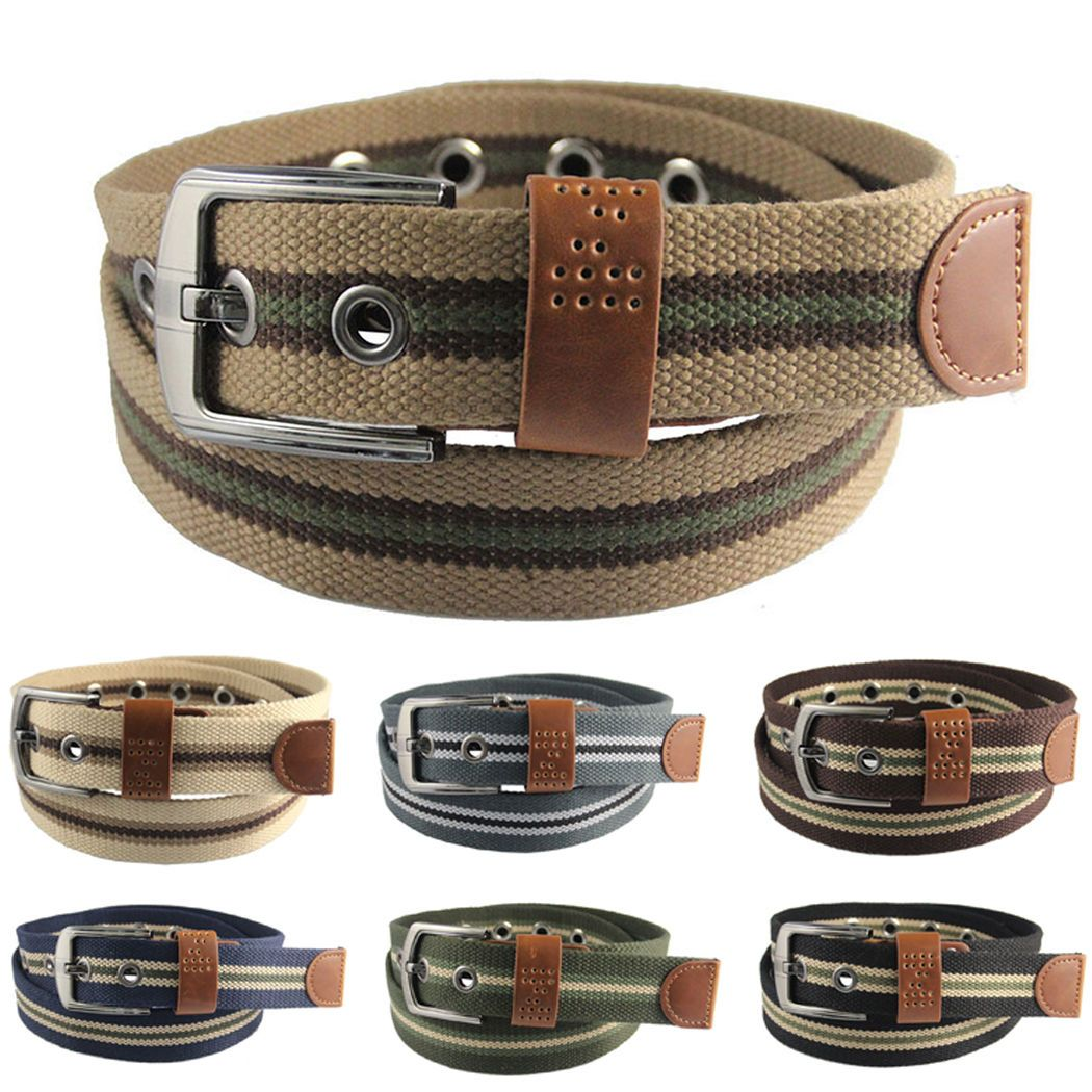 Adjustable Fashion Casual Simple Men Leather Belts Waistband Waist Strap