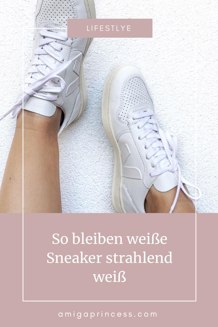 Mit diesen Tipps werden weiße Sneaker wieder strahlend weiß
