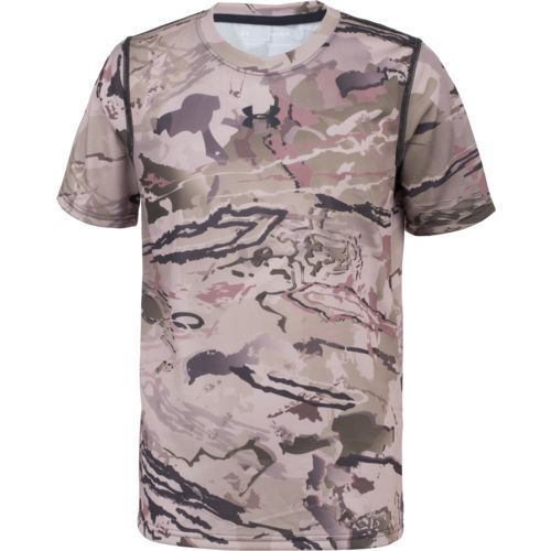 25481f923011a Under Armour Boys' Scent Control Tech Hunting T-shirt - Camo Clothing, Youth  Non-Insulated Camo at Academy Sports