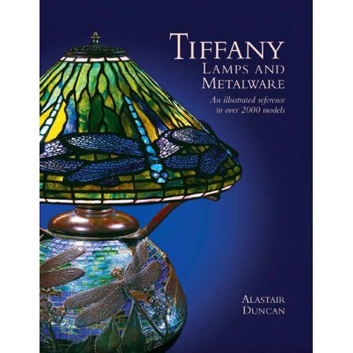 "The ""Bible"" on Tiffany Studios lamps and ""fancy wares."" Written by Alastair Duncan. Great photos. The definitive guide to Tiffany Studios by photo and model numbers. No prices given. Identification is the main virtue of this huge and heavy book."