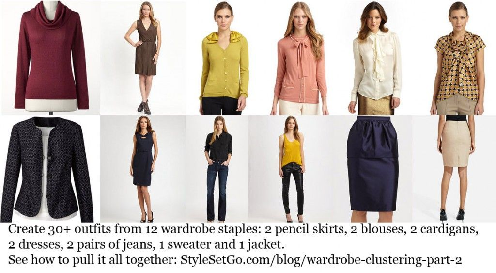Starting the Year Right | Wardrobe Clustering, part 2