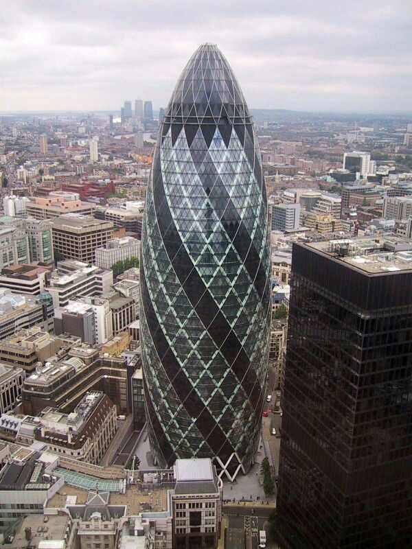 30 St Mary Axe. London.