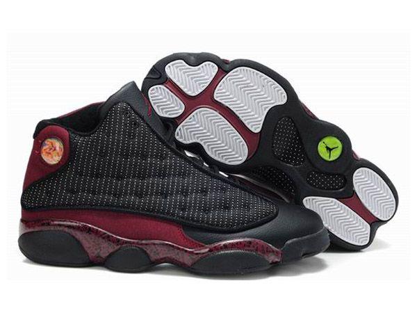 la meilleure attitude a0775 96a2f Retro Homme Air Jordan 13 Noir Rouge | Sneakers | Air jordan ...