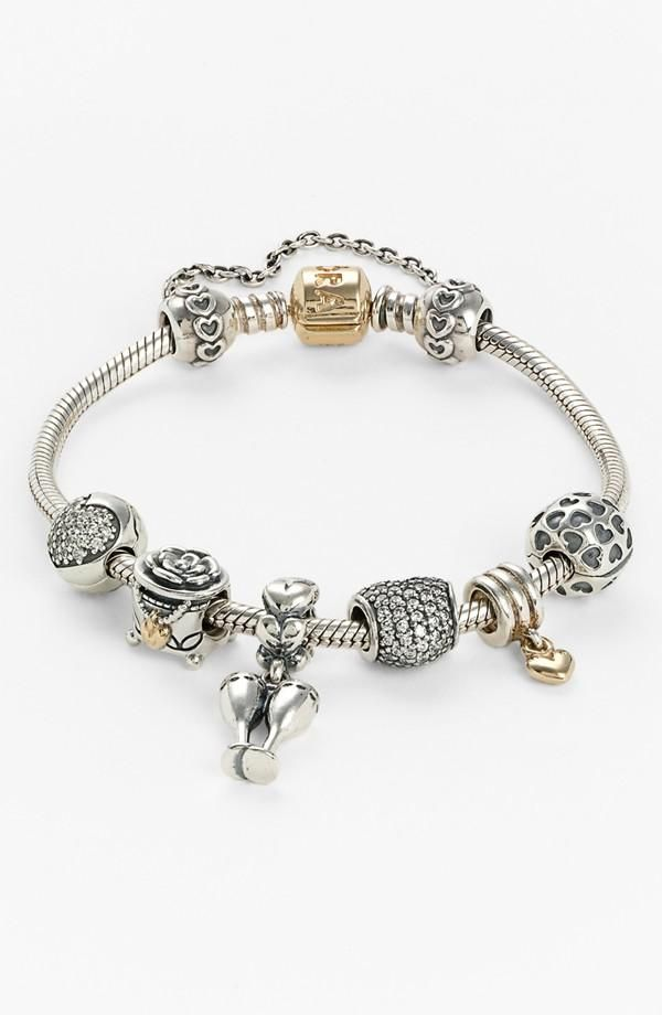 bracelet pandora pour charms