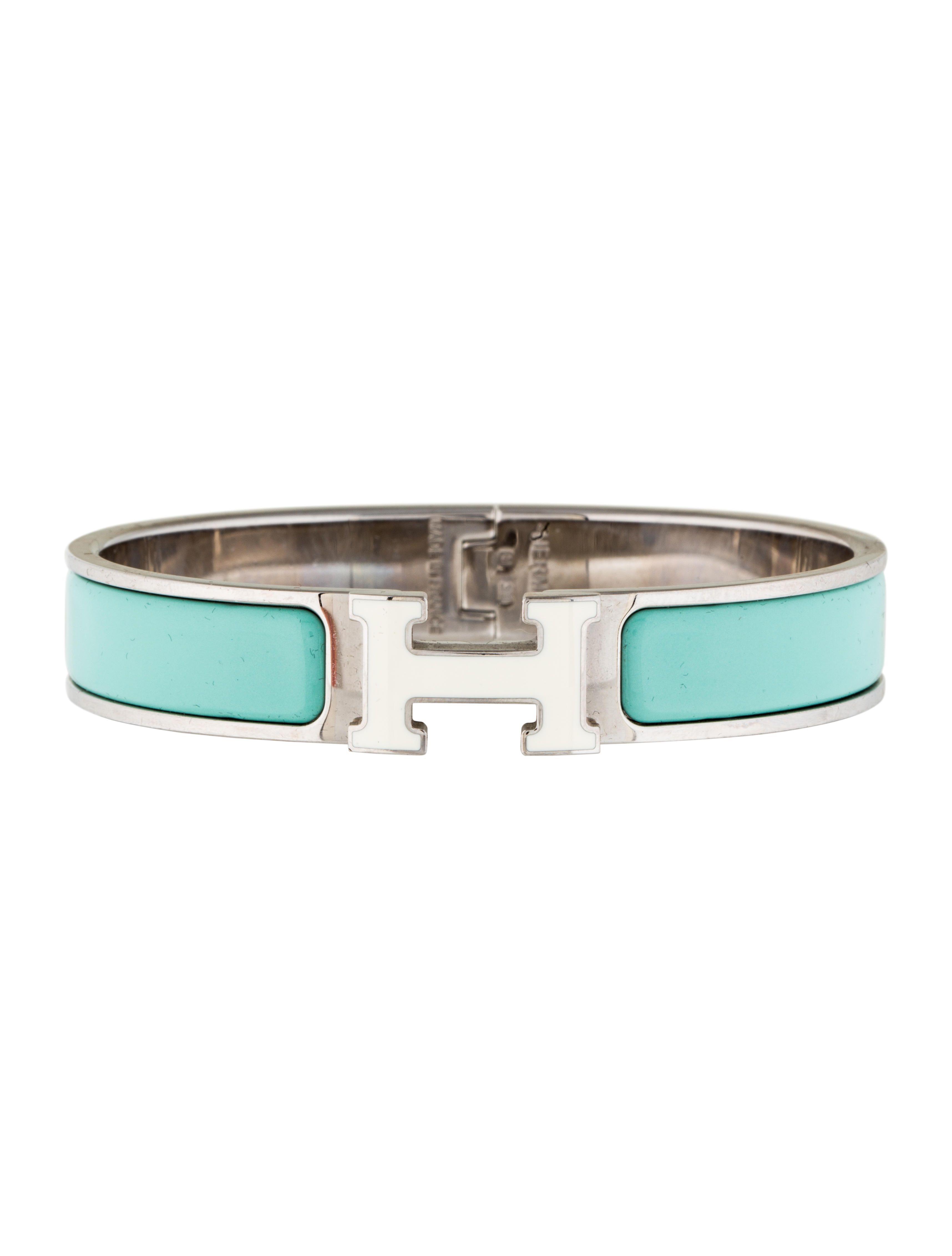Narrow Clic Clac Bracelet Bracelets White Enamel Narrow