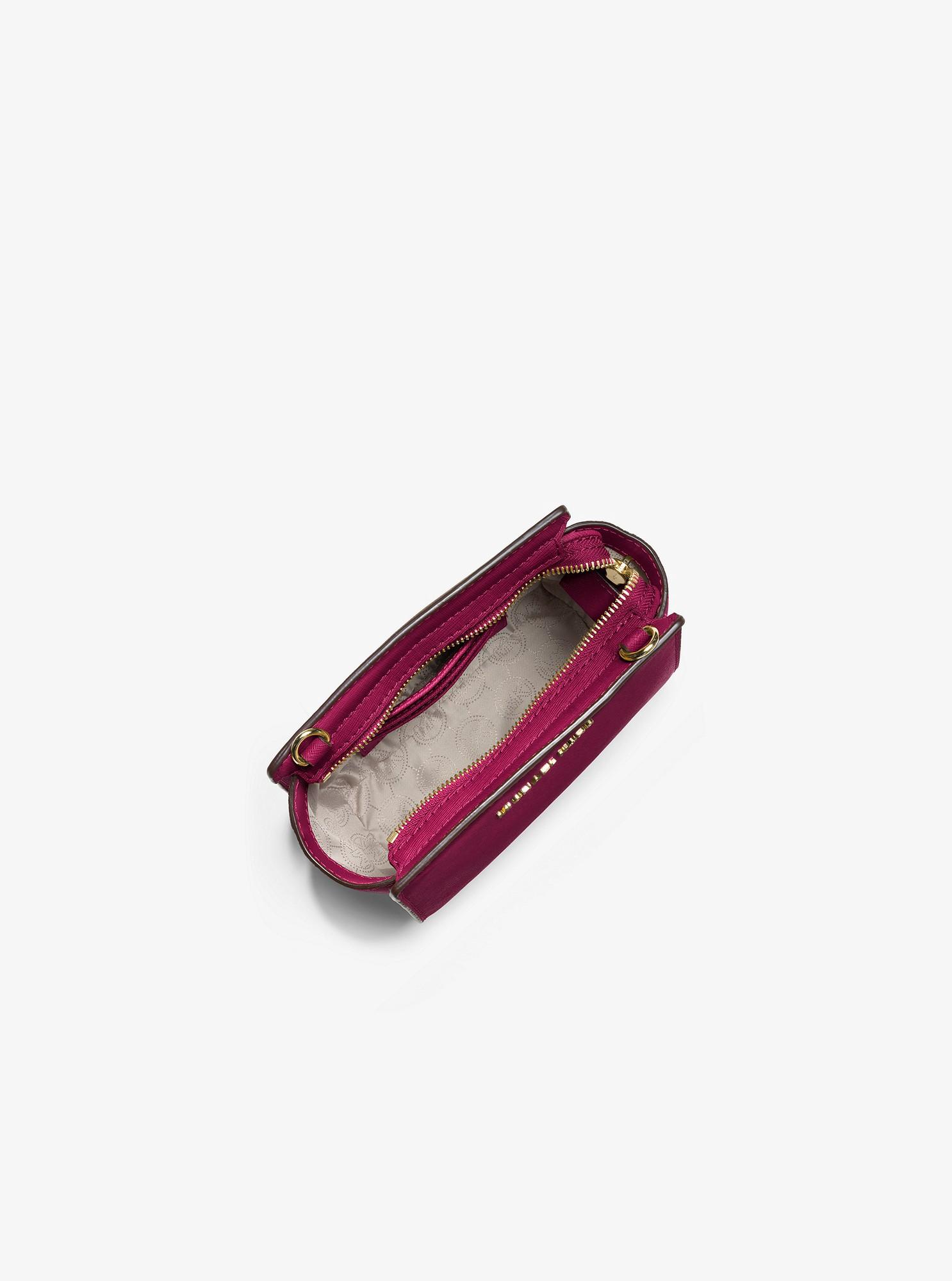 c16be9dcd386 Michael Kors Selma Mini Saffiano Leather Crossbody - Soft Pink ...