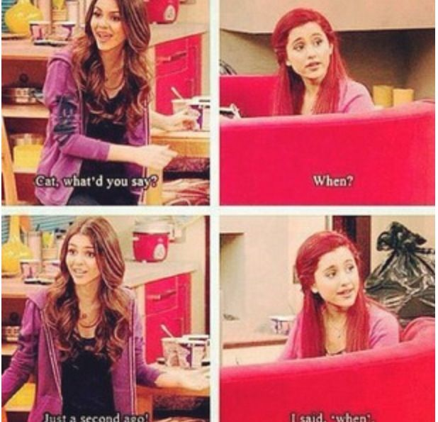 Cat valentine Victorious Funny quotes by Sam and cat