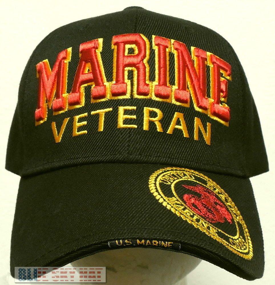 863e4e100f3 NEW U.S. MARINE CORPS USMC EGA EAGLE GLOBE ANCHOR MILITARY VETERAN VET CAP  HAT  PREMIUMHATS  BaseballCap