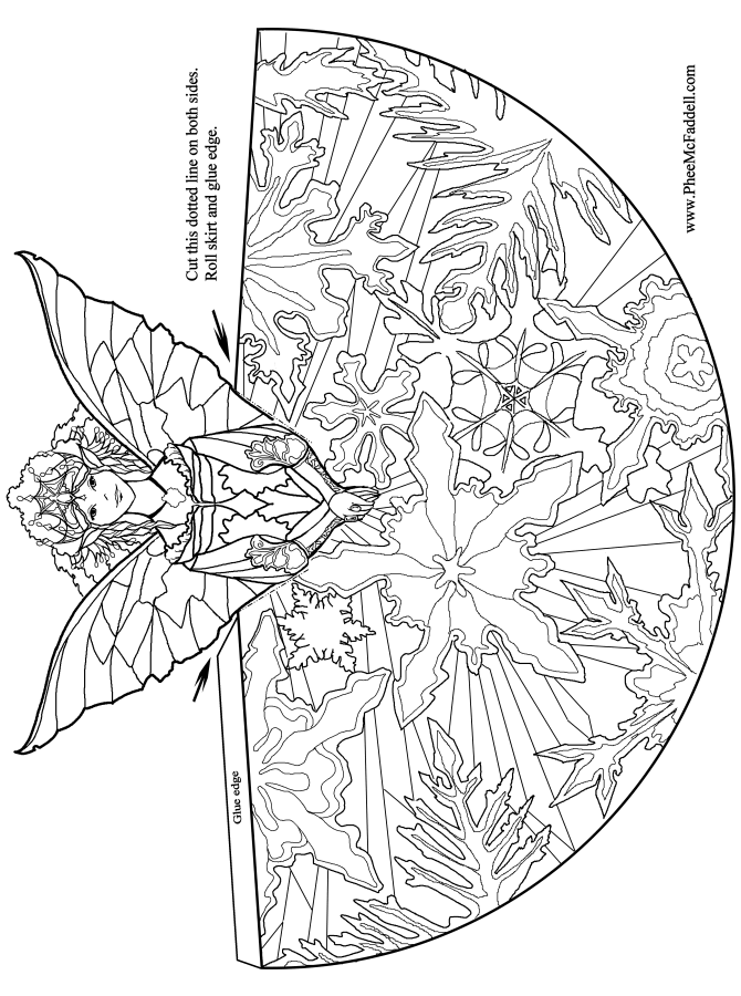 Fairy Princess Www Pheemcfaddell Com Http Www Pinterest Realistic Princess Coloring Pages Printable