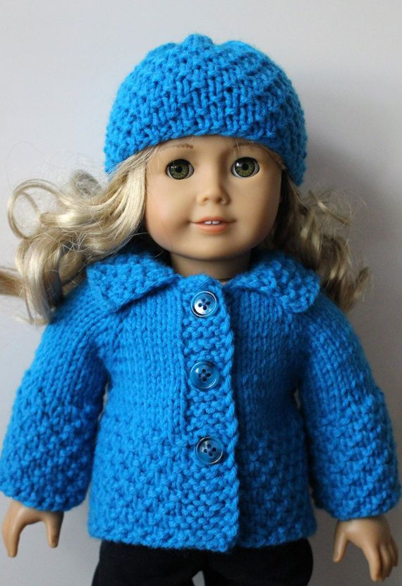 Cotton Candy Knitting Pattern for AMERICAN GIRL 18 inch doll ...