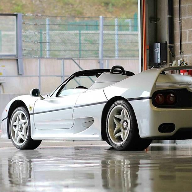 Rare White Ferrari F50 Follow Ferrariautomotive For More Photo