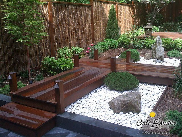 Cali Bamboo Fencing - 6ft x 8ft Black 1 Inch Diameter