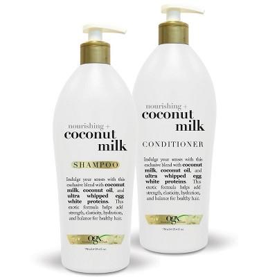 Ogx Nourishing Coconut Milk Conditioner 25 4 Fl Oz In 2020