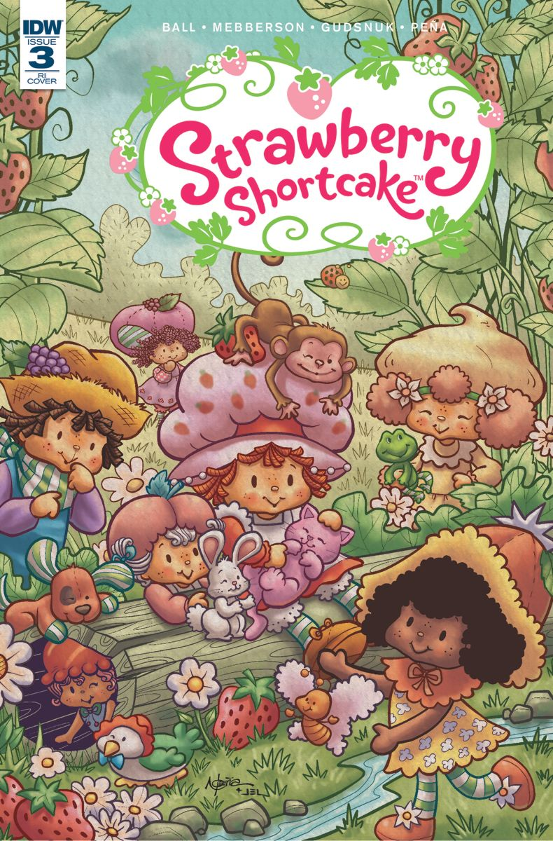 Strawberry Shortcake comic #3 | Frutillitas | Pinterest | Lindo ...
