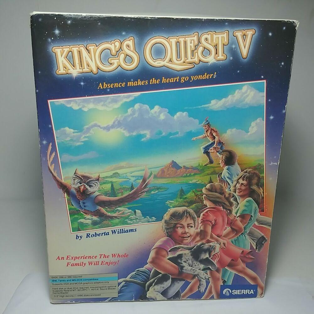 Kings Quest V Absence Makes the Heart Go Yonder! Sierra PC
