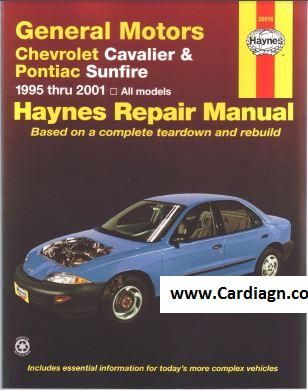 Chevrolet Cavalier And Pontiac Sunfire Haynes Repair Manual Pdf Scr1 Pontiac Sunfire Chevrolet Cavalier Pontiac