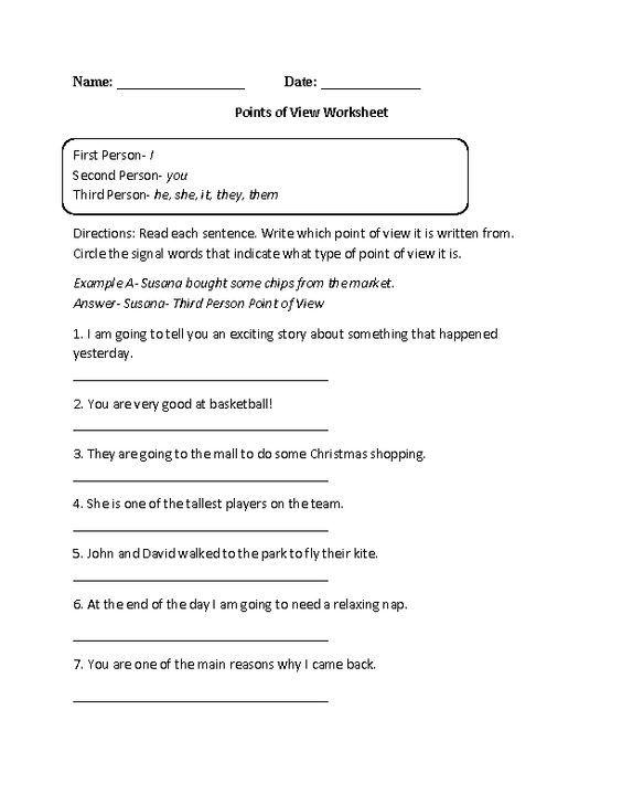 8th Grade Common Core | Reading Literature Worksheets: | School ...