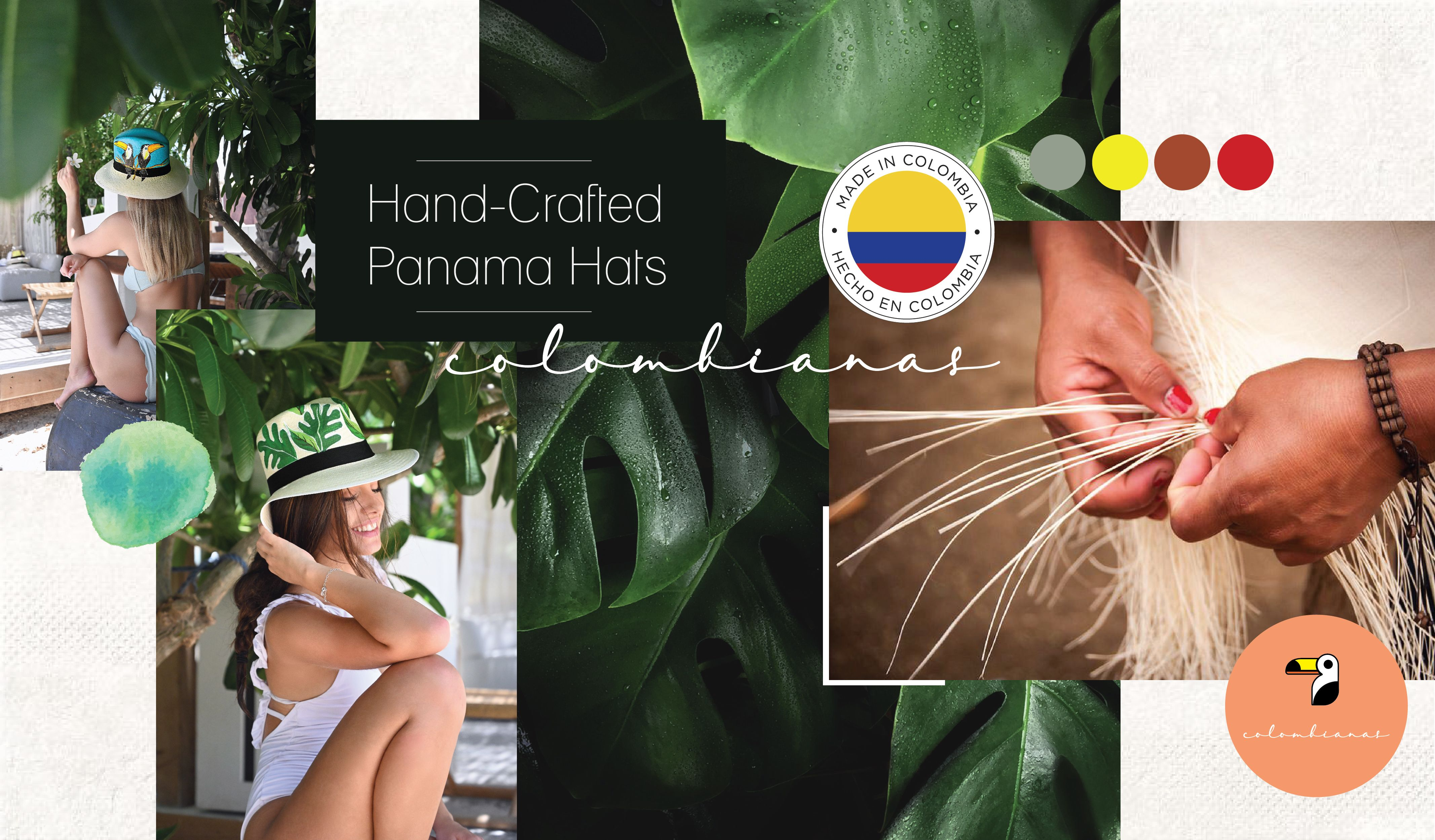 Handcrafted Panama Hats
