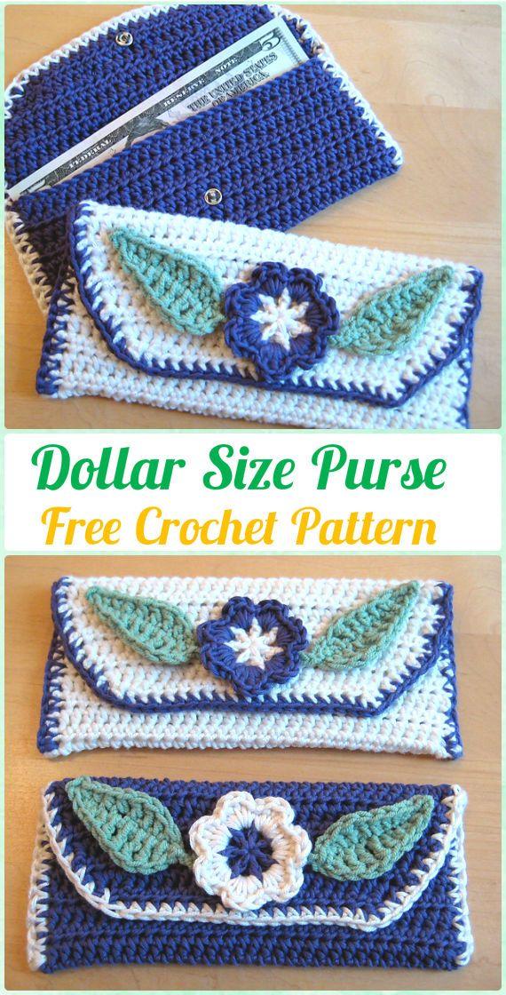Crochet Clutch Bag Amp Purse Free Patterns Instructions